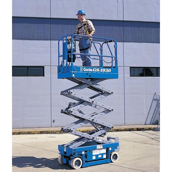 Goods And Personnel Lifting: Scissor Lift Personnel Powered Access Platform