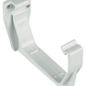 White Squarestyle 114mm Gutter Support Bracket