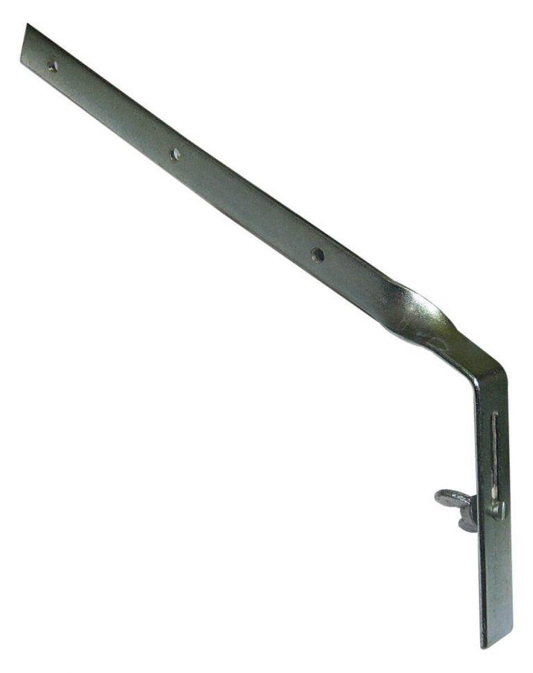112mm Gutter half Round Side Raft Bracket