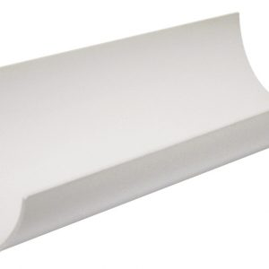 White Roundstyle Gutter 112mm 4M Length