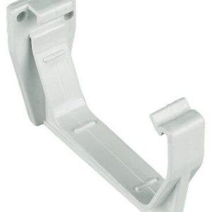 White Squarestyle 114mm Gutter Support Bracket